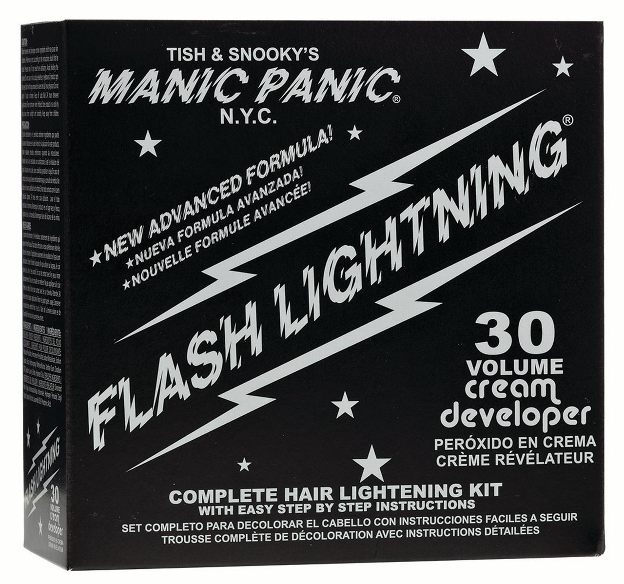 Manic Panic Flashlightning Bleach Kit 30 Volume Walmart Com