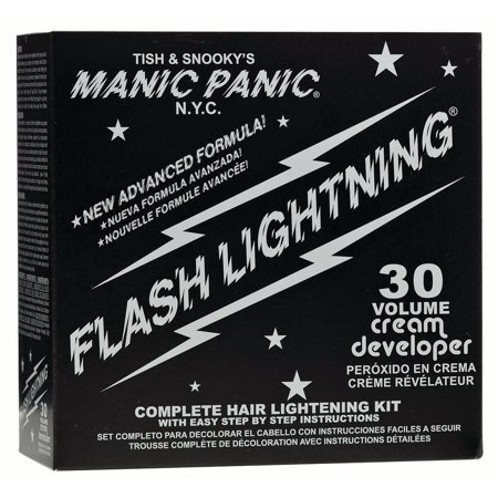 MANIC PANIC Flashlightning Bleach Kit, 30 Volume