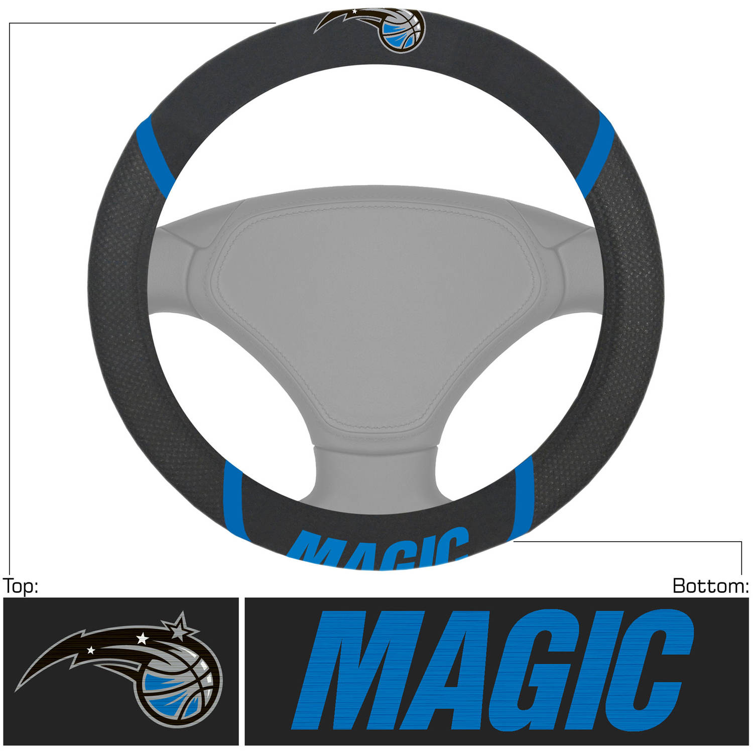 NBA Orlando Magic Steering Wheel Cover