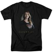 Supergirl Stand Tall Mens Short Sleeve Shirt