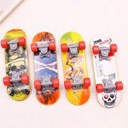 4Pcs Finger Skateboard Fingerboard Skate Board Kids Table Deck Mini Toys Nice