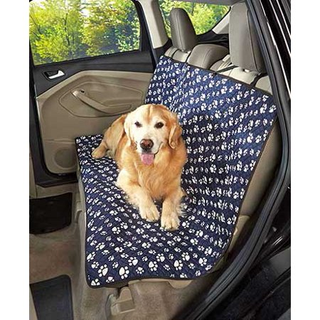 Ct Discount Store Quilt Pet Paw Print Car Seat Cover