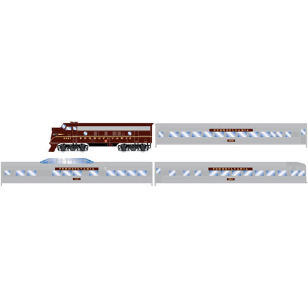 Roundhouse 14750 HO Amtrak Streamliner Train Set