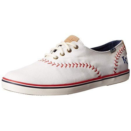 ced8e043c19 Keds Women s Champion Mlb Pennant Baseball Fashion Sneaker - Walmart.com