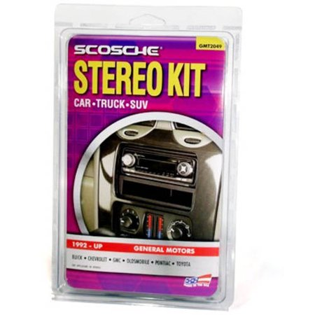 stereo wiring harness walmart stereo image wiring scosche gmt2049 car stereo installation kit for gm vehicles 1992 on stereo wiring harness walmart