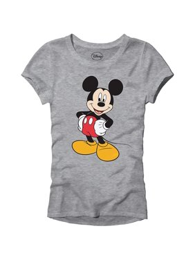 15c999023 Product Image Disney Mickey Mouse Wash Disneyland World Tee Funny Humor  Women's Juniors Slim Fit Graphic T-