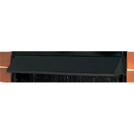 Black Fireplace Hood Accessory