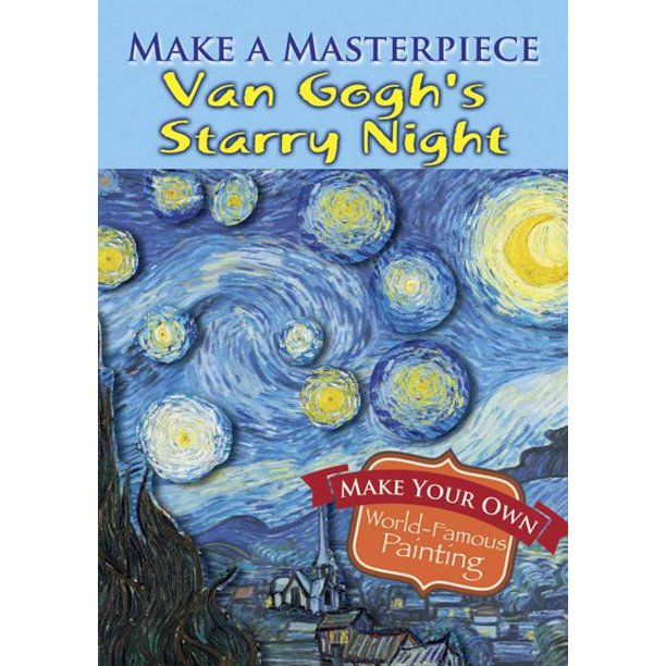 Dover Little Activity Books: Make a Masterpiece -- Van Gogh's Starry Night (Paperback)