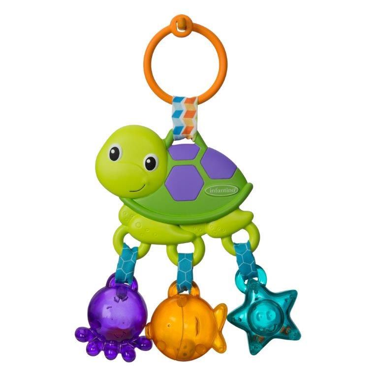 Infantino Sea Charms Turtle Rattle by Infantino