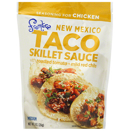 Frontera Taco Skillet Sauce with Roasted Tomato   Mild Red Chile, 8 oz, (Pack of 6)