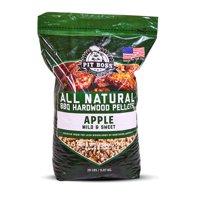 Pit Boss Barbecue Hardwood Pellets, Apple, 20 lb