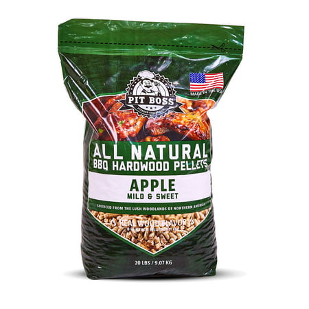 Pit Boss BBQ Hardwood Pellets, Apple, 20 lb