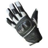 Men's Fulmer GT22 Vented Hard Knuckle Leather/Mesh Gloves Motorcycle Riding