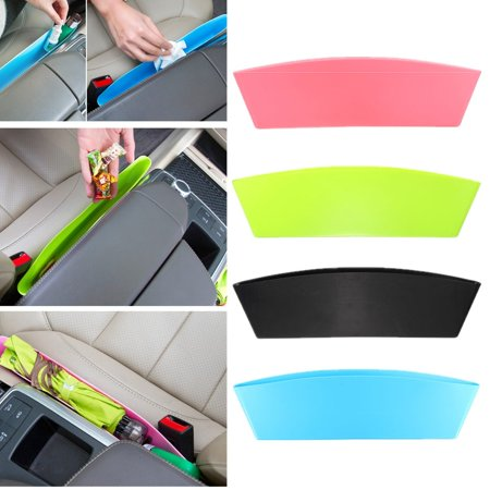 3 Colors Universal Car Seat Slit Side Pocket Catch Organizer Console Catcher Storage Pouch Bag Box Phone Holder (3 Pocket Windshield Bag)