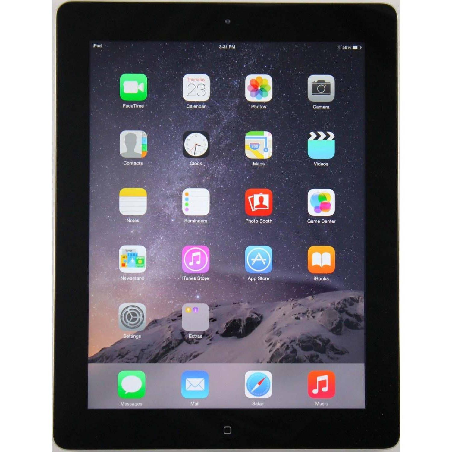 Apple iPad 2 16GB Black + AT&T Refurbished
