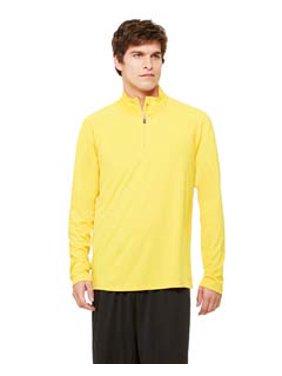 T-Shirts - Long Sleeve Quarter-Zip Lightweight Pullover