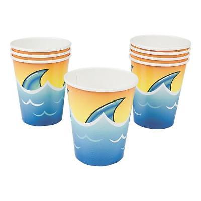 IN-70/8350 Jawsome Shark Cups 8 Piece(s) 2PK