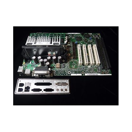 Refurbished-Intel MP440BXSlot 1 motherboard with Intel 440BX chipset. 1 AGP, 4 PCI, 2 ISA and 3 SDRAM slots. The Intel MP440BX was widely used in Gateway and other similar computers of its time.
