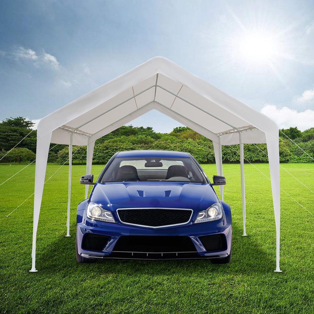 Zimtown 20'x10' Carport Car Shelter Canopy Heavy Duty ...