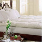 Best Feather Beds - Dreamy Nights 233TC Cotton Feather and Fiber Bed Review