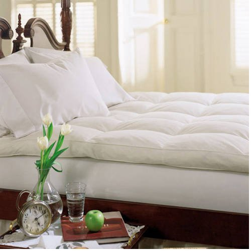 Dreamy Nights 233TC Cotton Feather and Fiber Bed in Multiple sizes