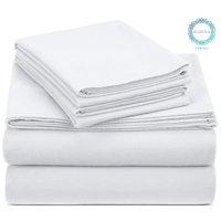Auraa Sun Washed 100% Cotton Flannel 3 PC Sheet Set