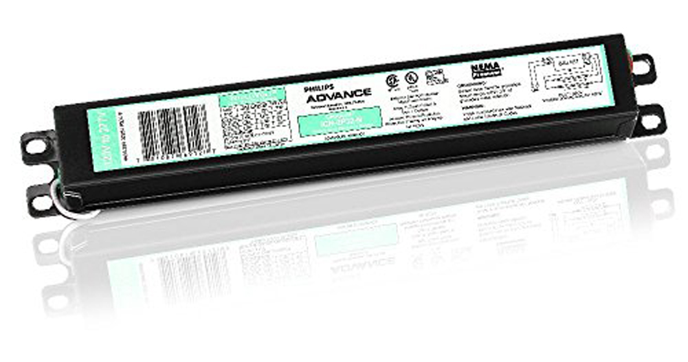 "PHILLIPS ADVANCE Centium ICN-2P32-N Electronic Ballast,T8 Lamps,120V-277V /""NEW/"""