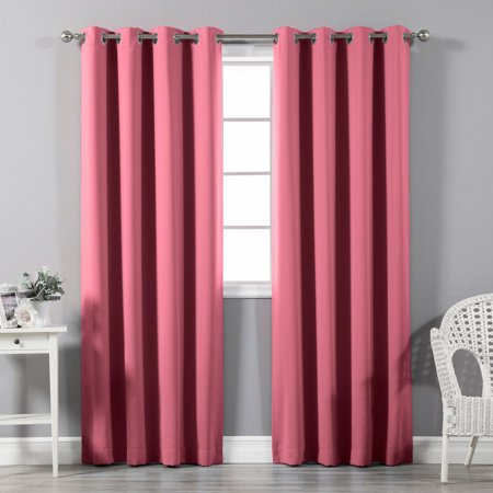 Best Home Fashion Grommet Blackout Single Curtain (Best States For Black Singles)