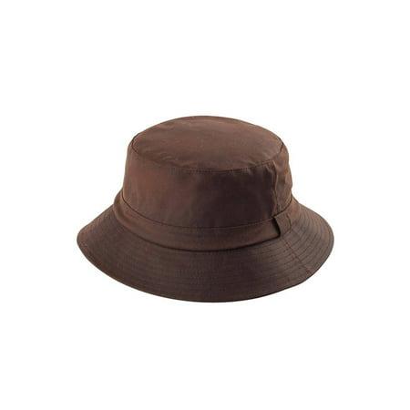 e2f8e7e8ba8 WAXED COTTON CANVAS BUCKET HAT