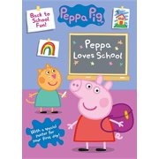 Peppa Pig Peppa Loves School (Paperback)