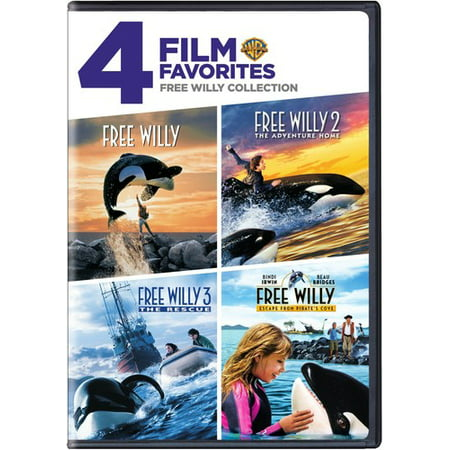 4 Film Favorites: Free Willy Collection (DVD) - Halloween 1978 Full Film
