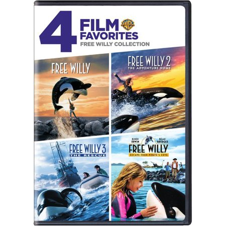 4 Film Favorites: Free Willy Collection (DVD) for $<!---->