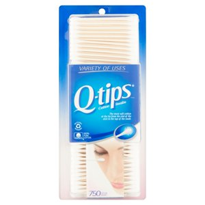 Q-tips Cotton Swabs 750 ct