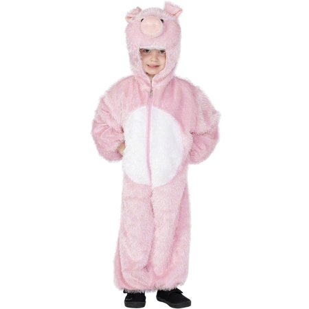 Pig Jumpsuit Child Costume (Medium) (Kids Pig Costumes)