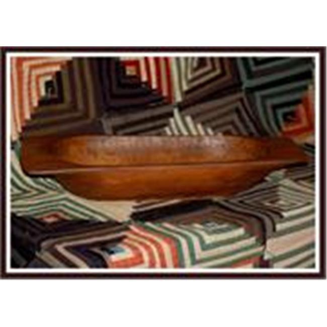 Craft-tex BWL 1 PRIM-Ware Dough Decorative Bowl Oak by Craft-Tex