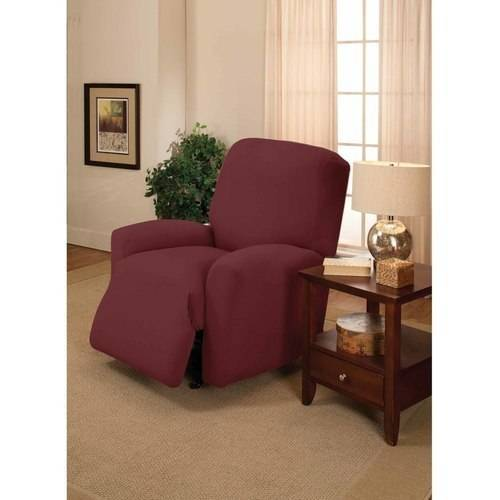 Madison Jersey Stretch Slipcover, Large Chair