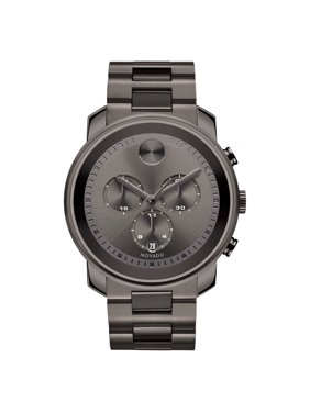 Movado Bold Steel Chronograph Watch 3600277