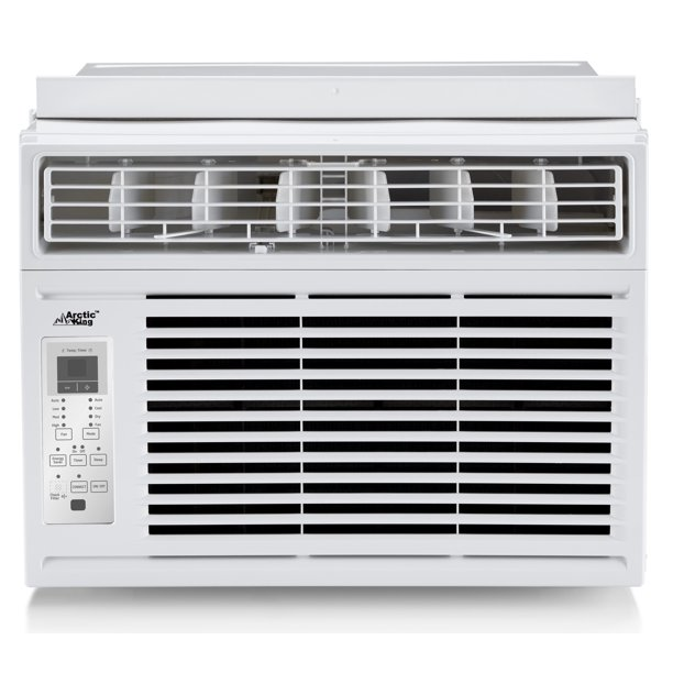 Arctic King 8,000 BTU 115V Smart Window Air Conditioner with Remote, WWK08CW01N