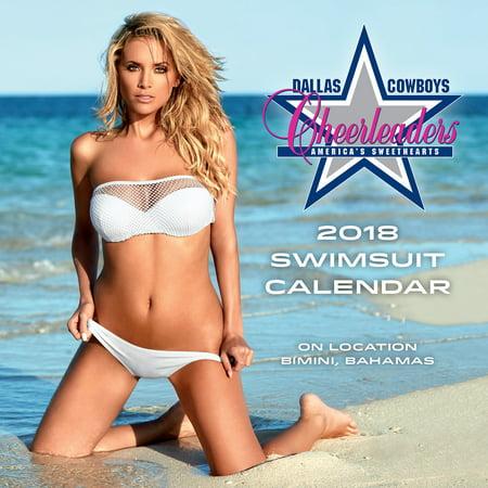 Cheerleader Calendar (TURNER LICENSING DALLAS COWBOYS CHEERLEADERS 2018 MINI WALL CALENDAR )