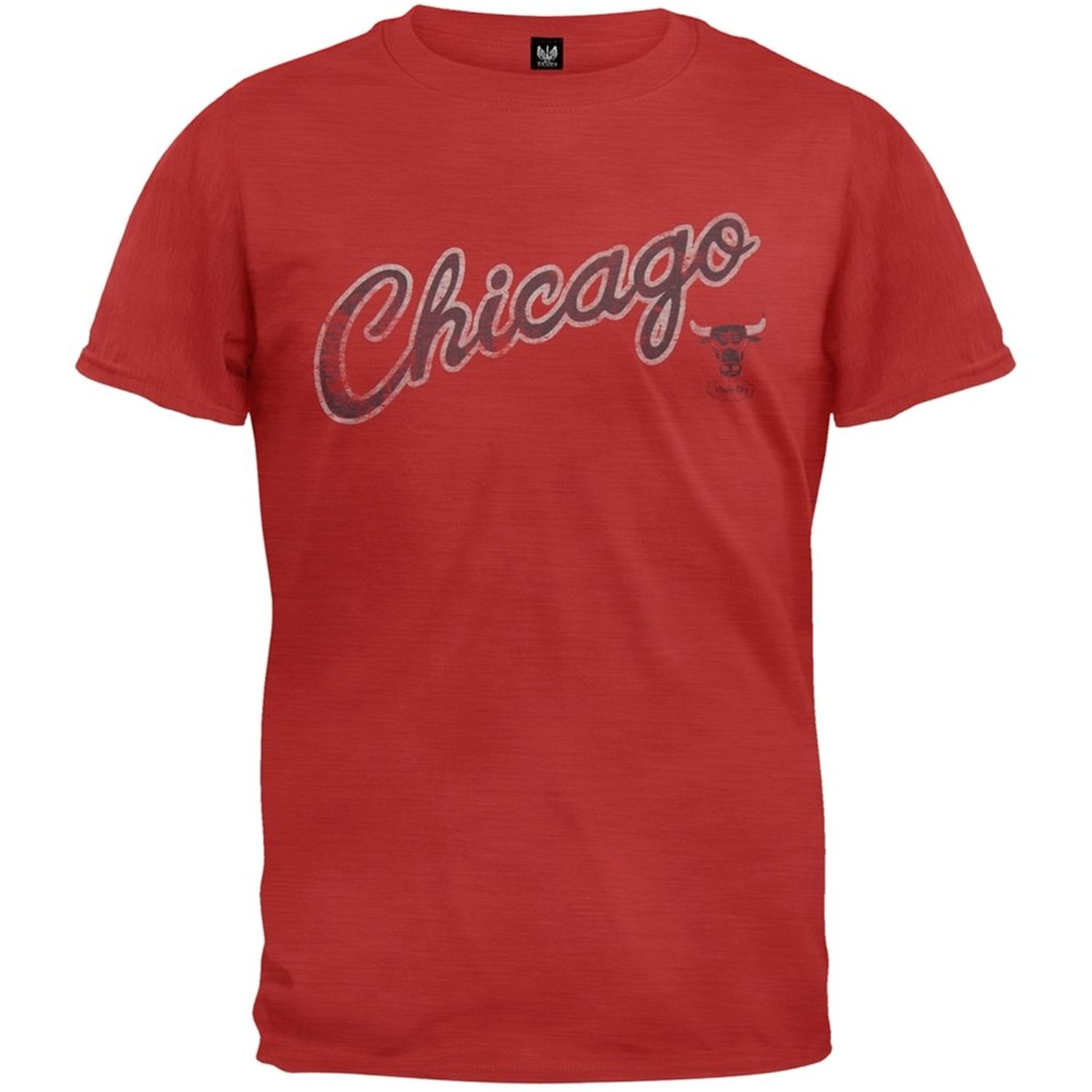 Chicago Bulls - Logo Scrum Premium T-Shirt