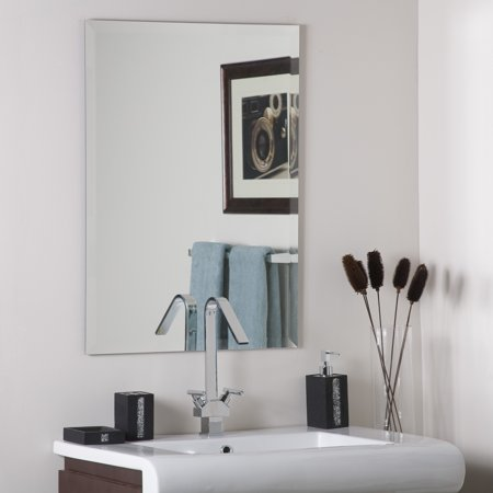 Décor Wonderland Frameless Square Beveled Mirror 23.5 inx31.5 in ()