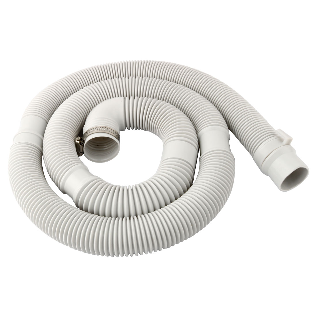 Washing Machine Water Waste Drain Discharge Hose Connector White 4.75Ft Long - image 5 of 5