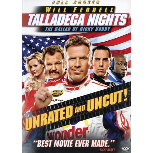 Talladega Nights-ballad Of Ricky Bobby [dvd/unrated/ff 1.33/dd 5.1/eng-sub (sony Pictures Home Ent)