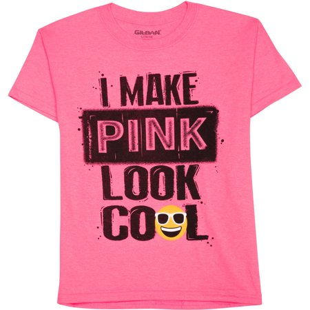 Boys' I Make Pink Look Cool Short Sleeve Graphic Crew T-Shirt ...