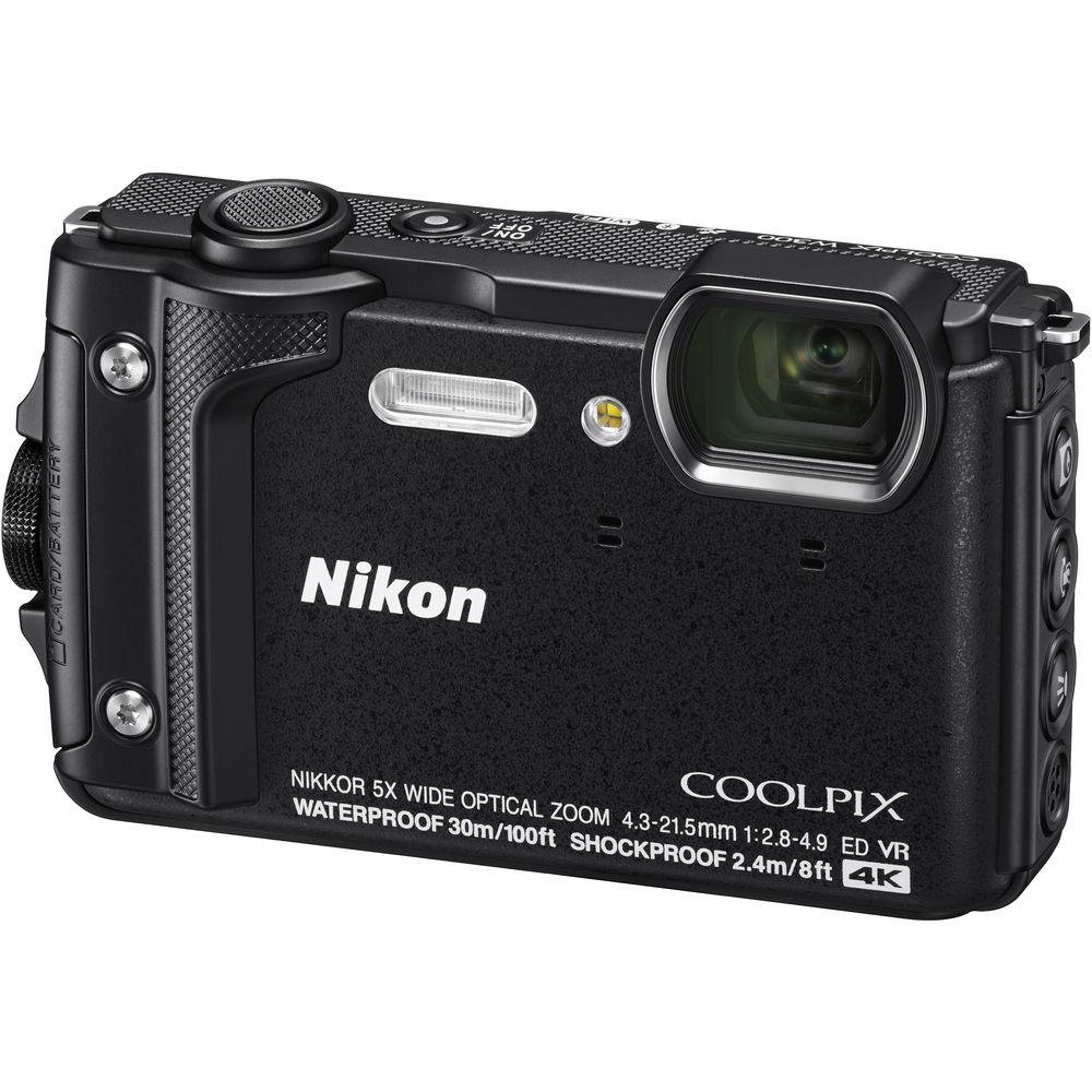 Nikon COOLPIX W300 Digital Camera (Black) 26523