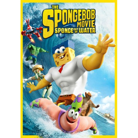 The Spongebob Movie: Sponge Out of Water (DVD) - Sandy The Squirrel Spongebob