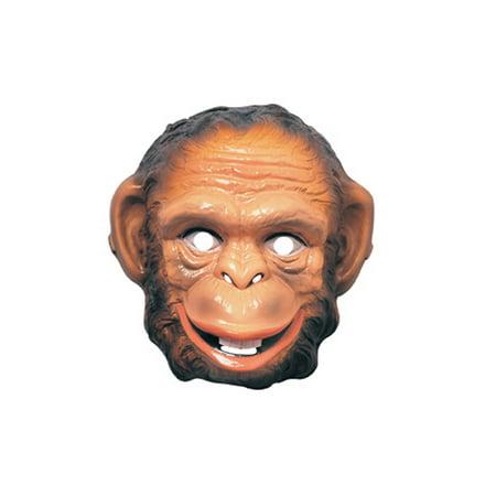 Basic Monkey Mask Rubies 3282](Monkey Head Mask)