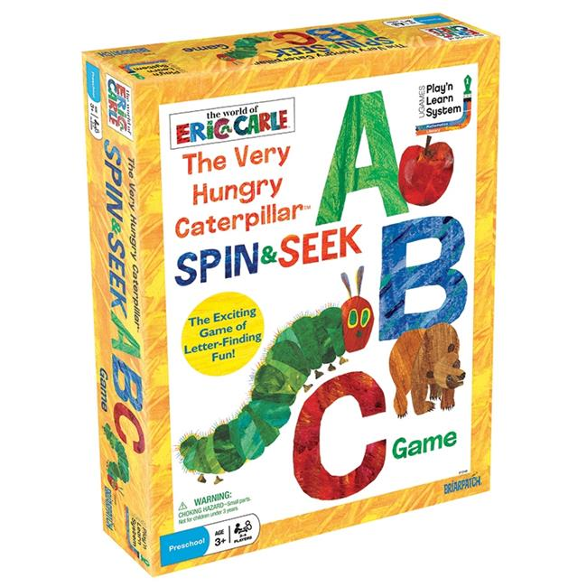 University Games UG-01249 The Very Hungry Caterpillar Spin & Seek ABC Game by University Games Corporation