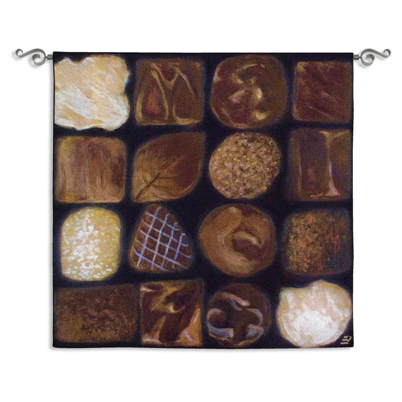 Fine Art Tapestries Chocolate Box Wall Tapestry by Supplier Generic