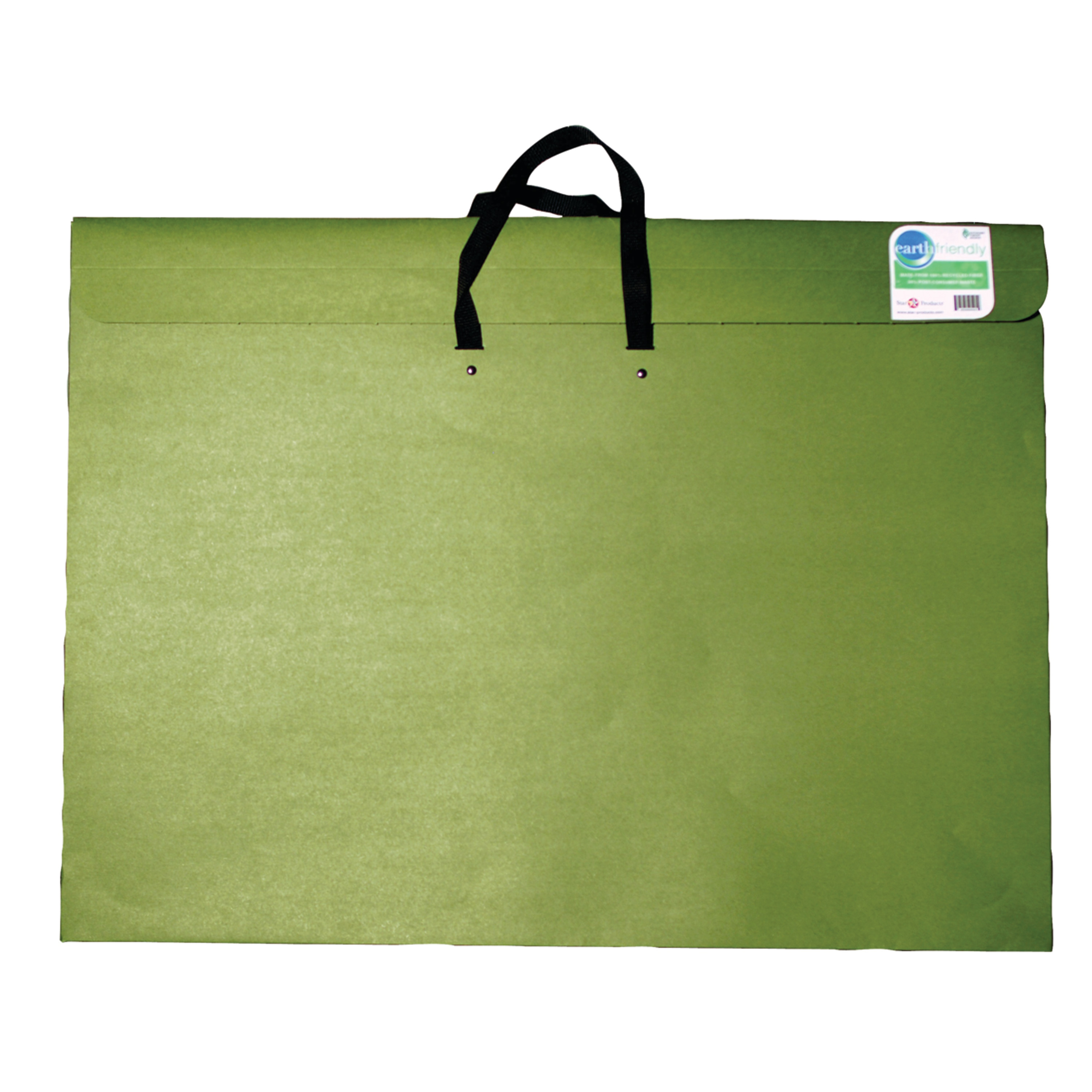 Star Products Earth Friendly Green Portfolio, 14in x 20in x 2in